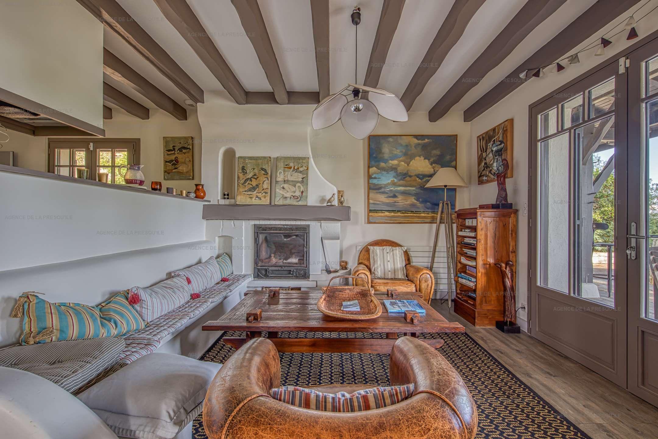 Location: Charmante villa avec piscine, vue bassin, à deux pas des plages 6