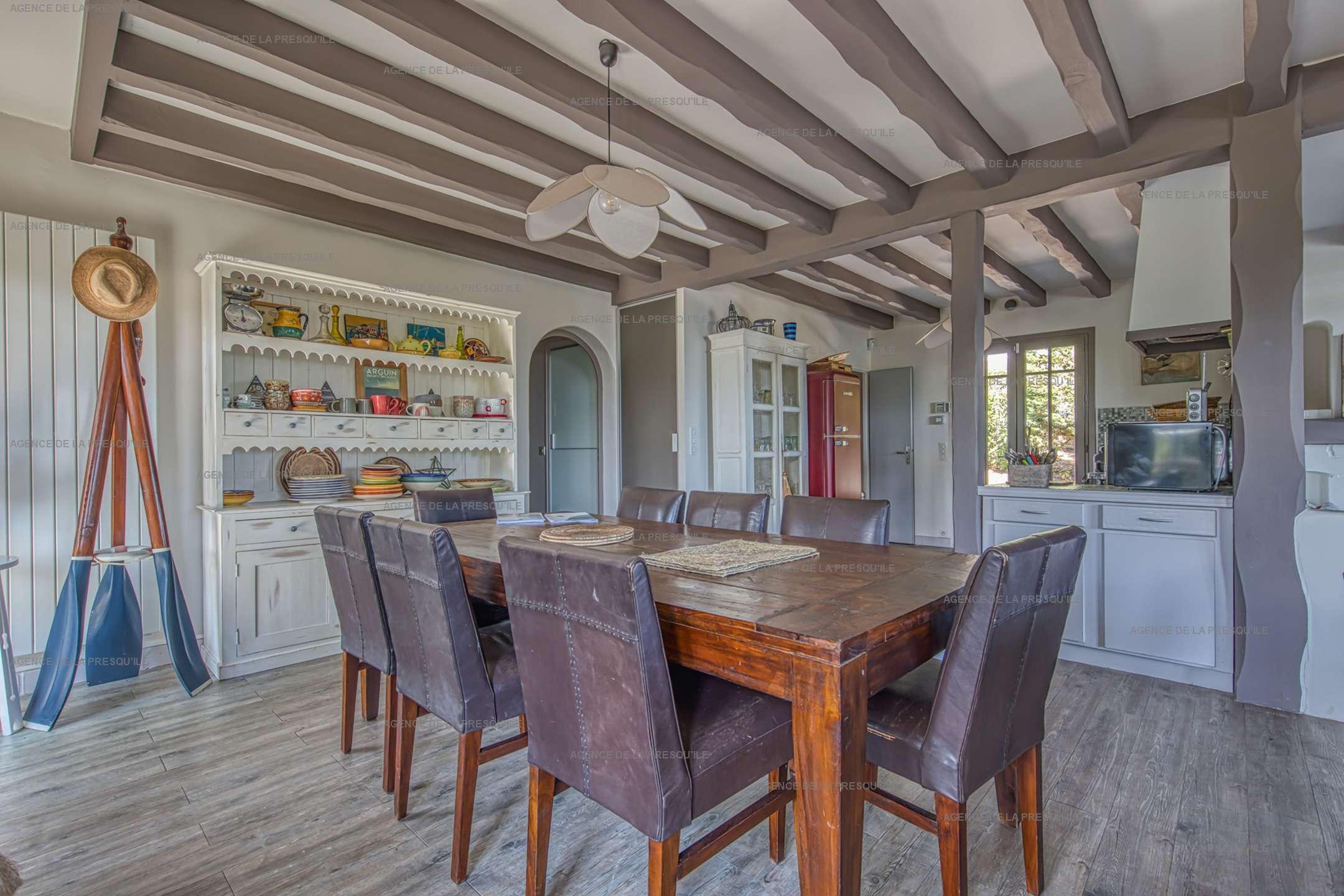 Location: Charmante villa avec piscine, vue bassin, à deux pas des plages 7