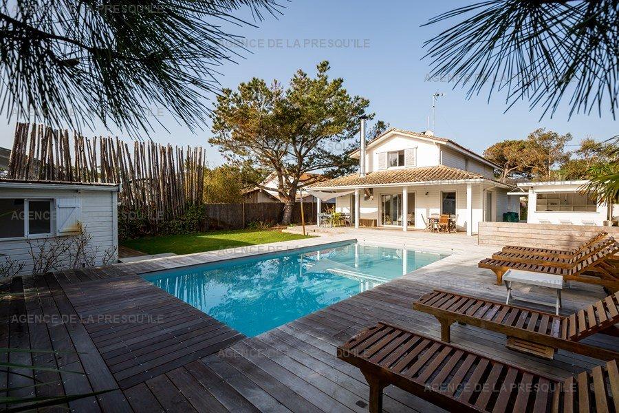 Location: Belle villa entre bassin et océan 2
