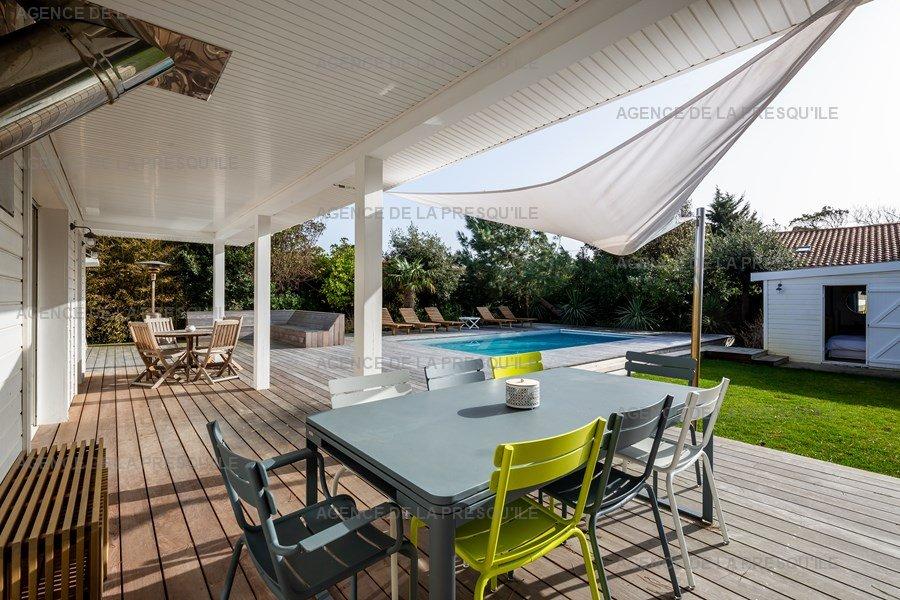 Location: Belle villa entre bassin et océan 3