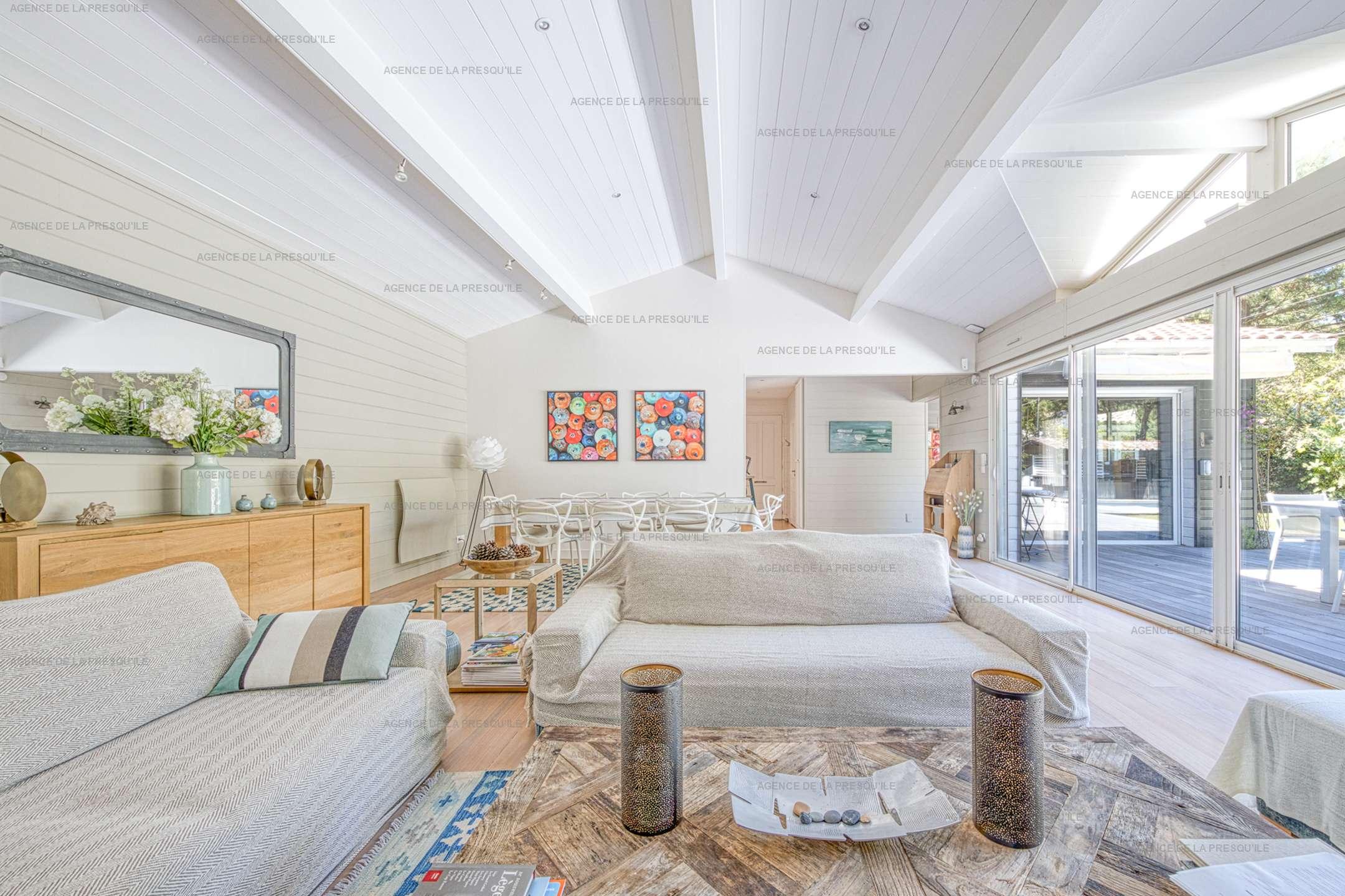 Location: Très belle villa en bois au calme avec piscine chauffée 4