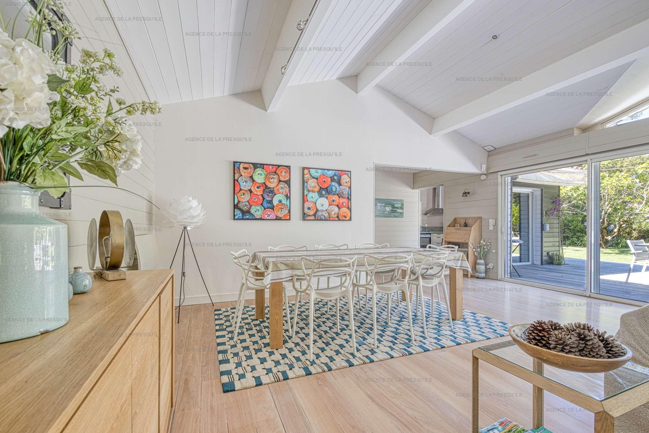 Location: Au calme, très belle villa en bois avec piscine chauffée 6