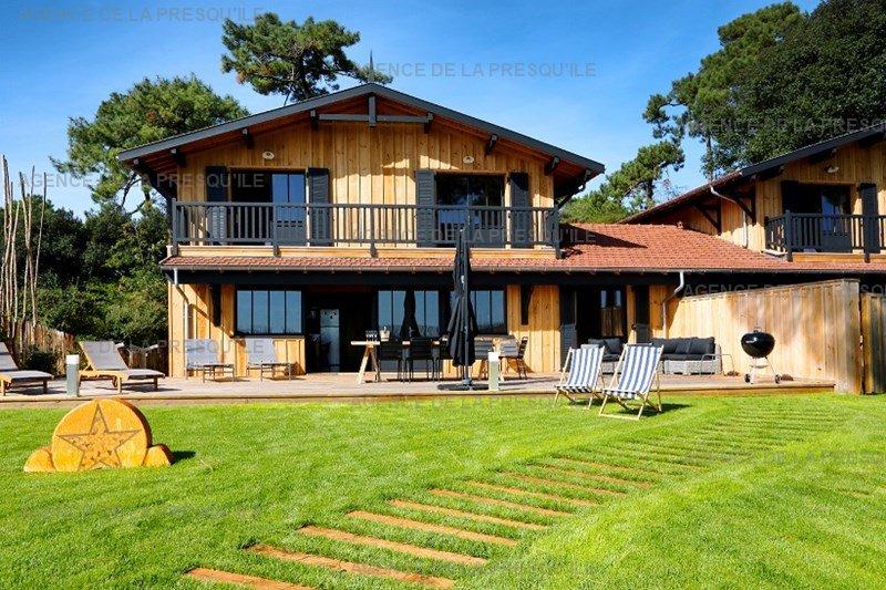 Location: Villa bois face au bassin d'arcachon 7