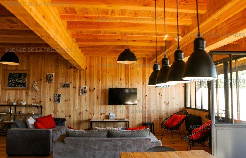 Location: Villa bois face au bassin d'arcachon 11