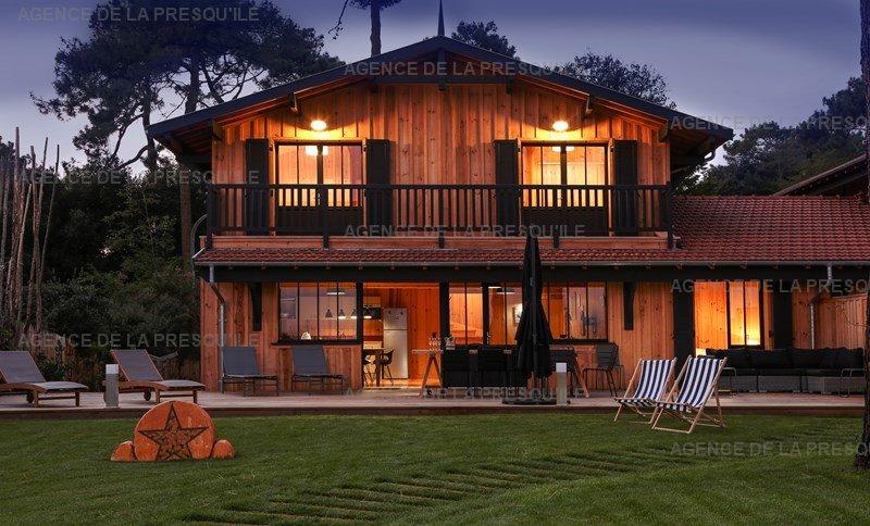 Location: Villa bois face au bassin d'arcachon 22