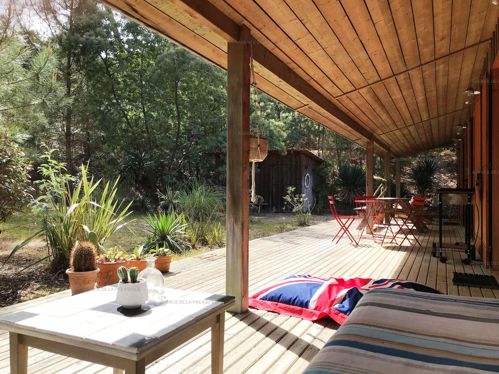 Location: Entre bassin et océan – agréable villa bois située au calme 2