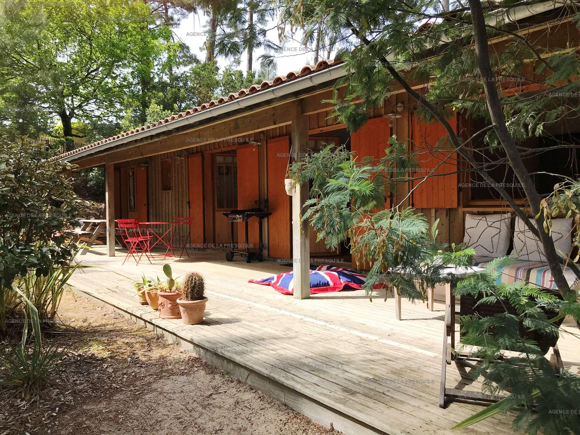 Location: Entre bassin et océan – agréable villa bois située au calme 3