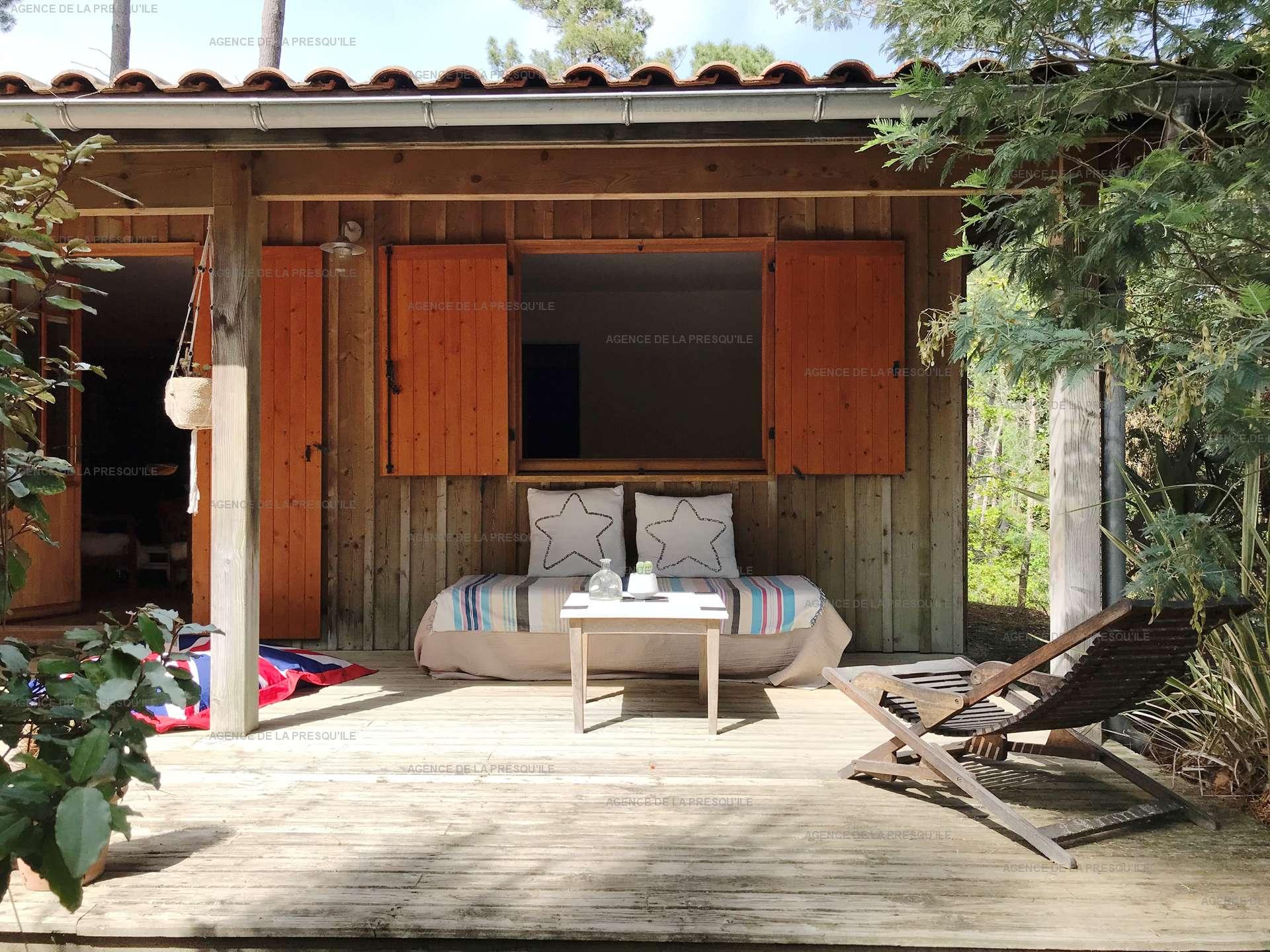 Location: Entre bassin et océan – agréable villa bois située au calme 4