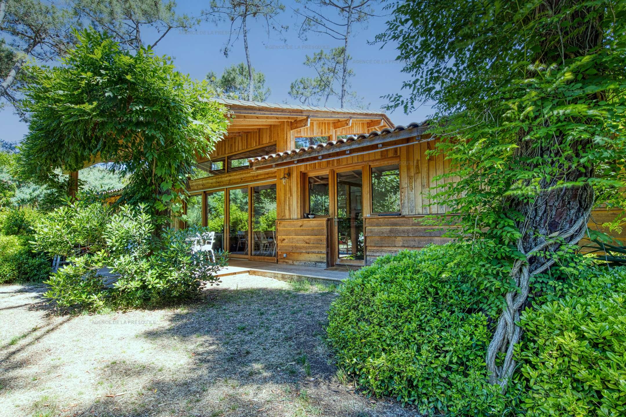 Location: Charmante villa neuve en bois aux 44 hectares 2