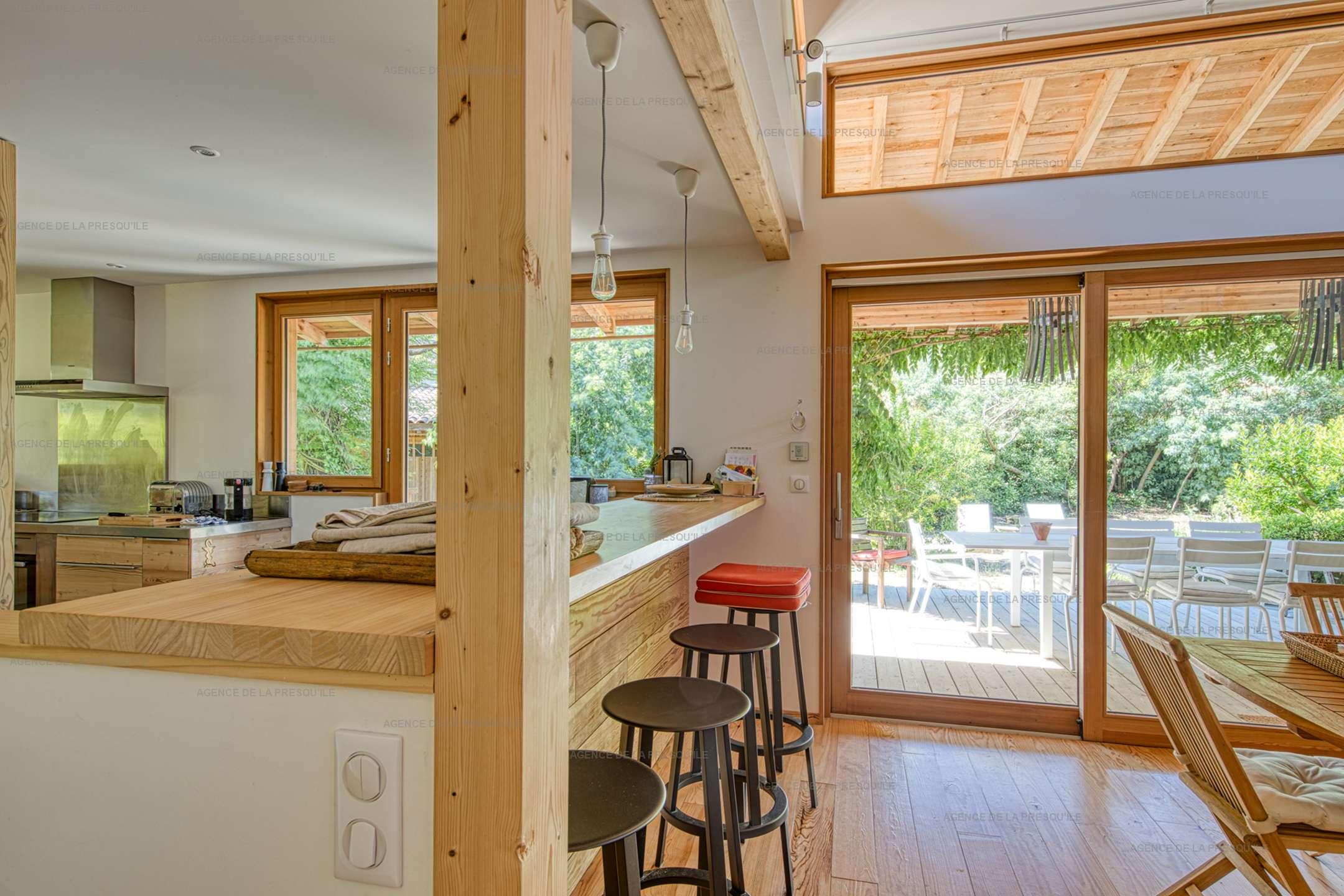 Location: Charmante villa neuve en bois aux 44 hectares 5