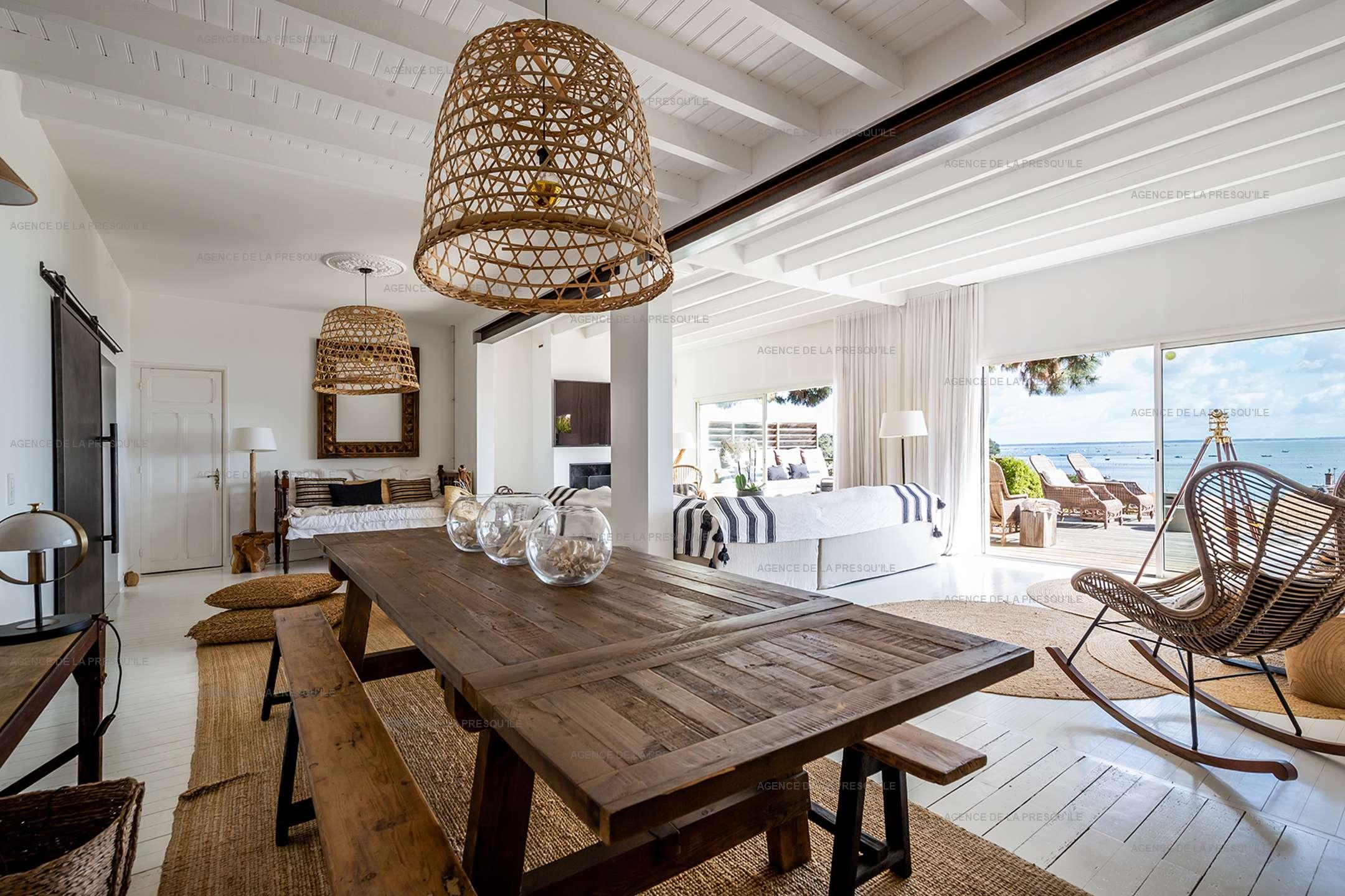 Location: Superbe villa avec vue bassin et piscine 5
