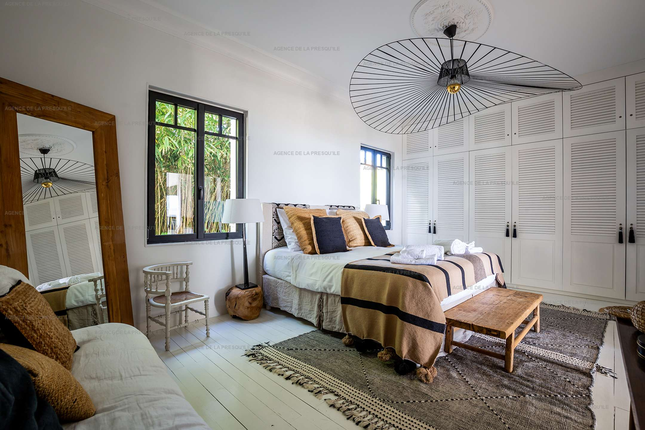 Location: Superbe villa avec vue bassin et piscine 9