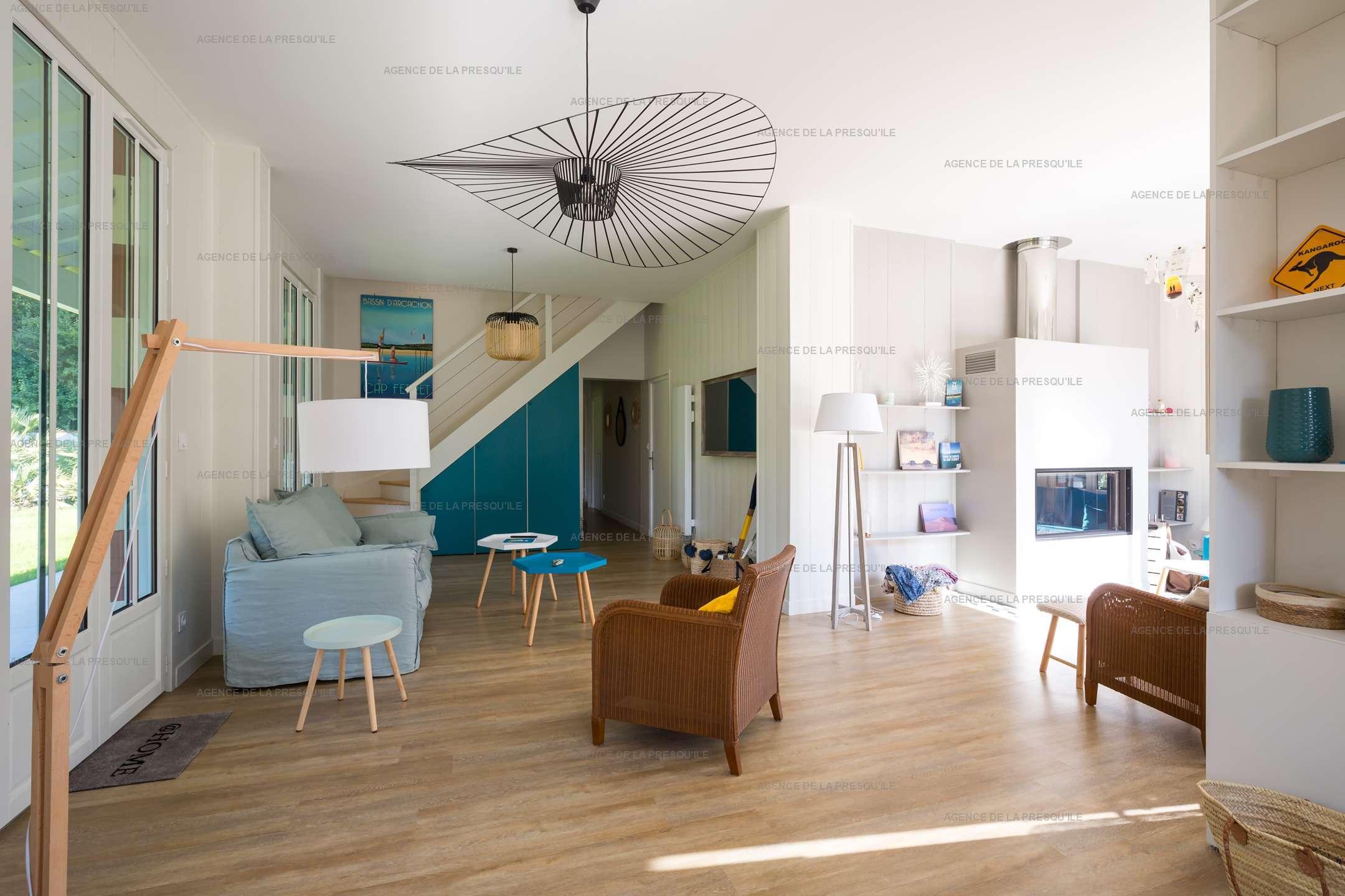 Location: Très belle villa avec piscine au centre du cap-ferret 3