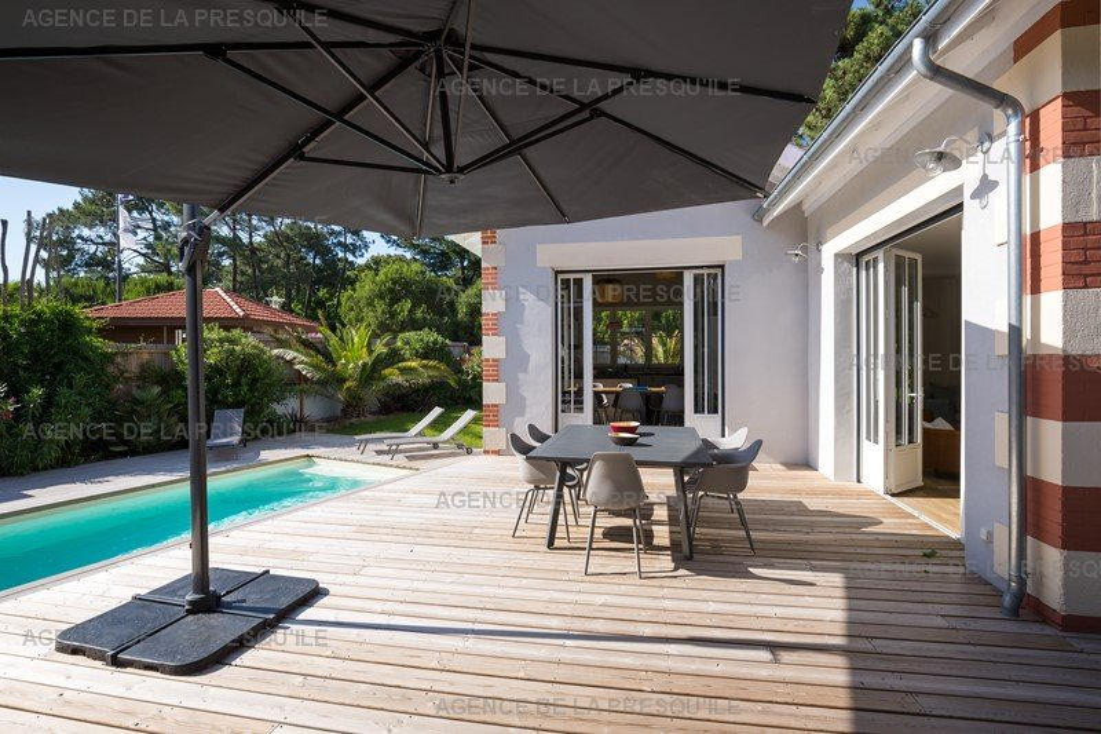 Location: Très belle villa avec piscine au centre du cap-ferret 8