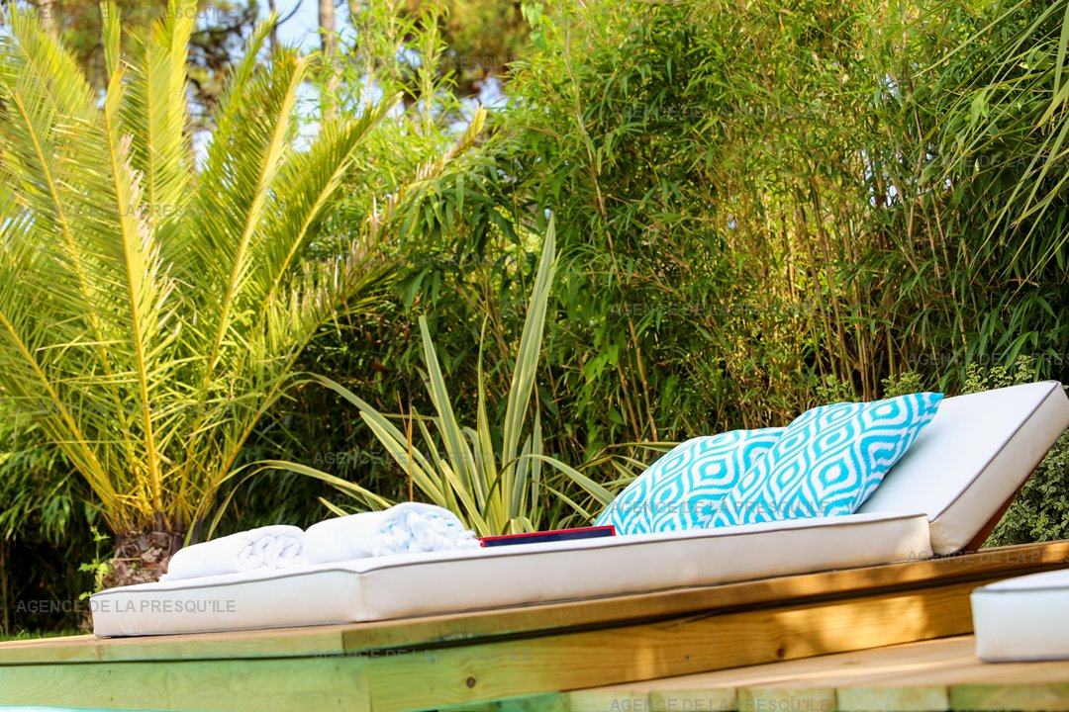 Location: Belle villa bois neuve située au cap-ferret avec piscine 4