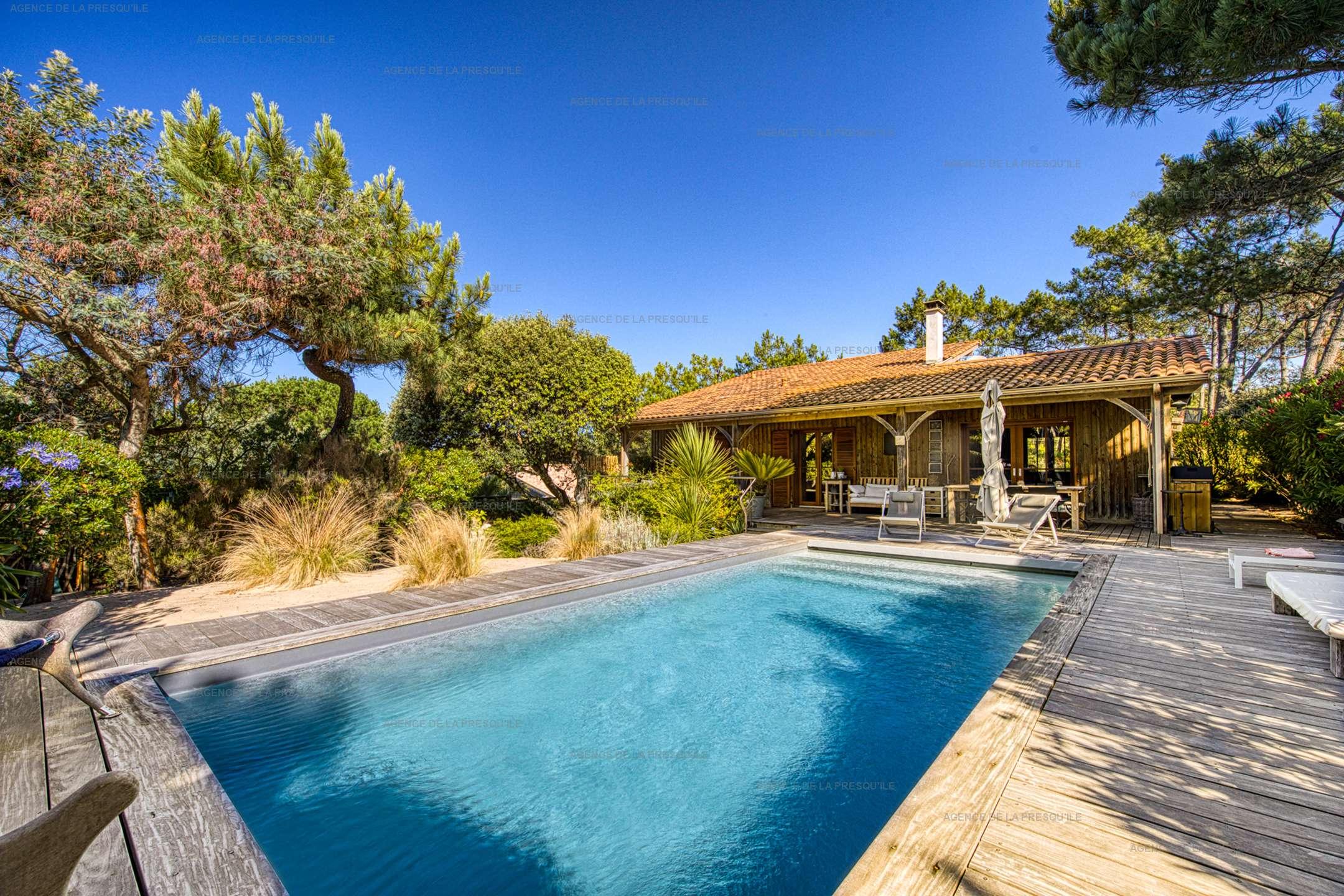 Location: Ravissante villa avec piscine entre le bassin et l'océan 2