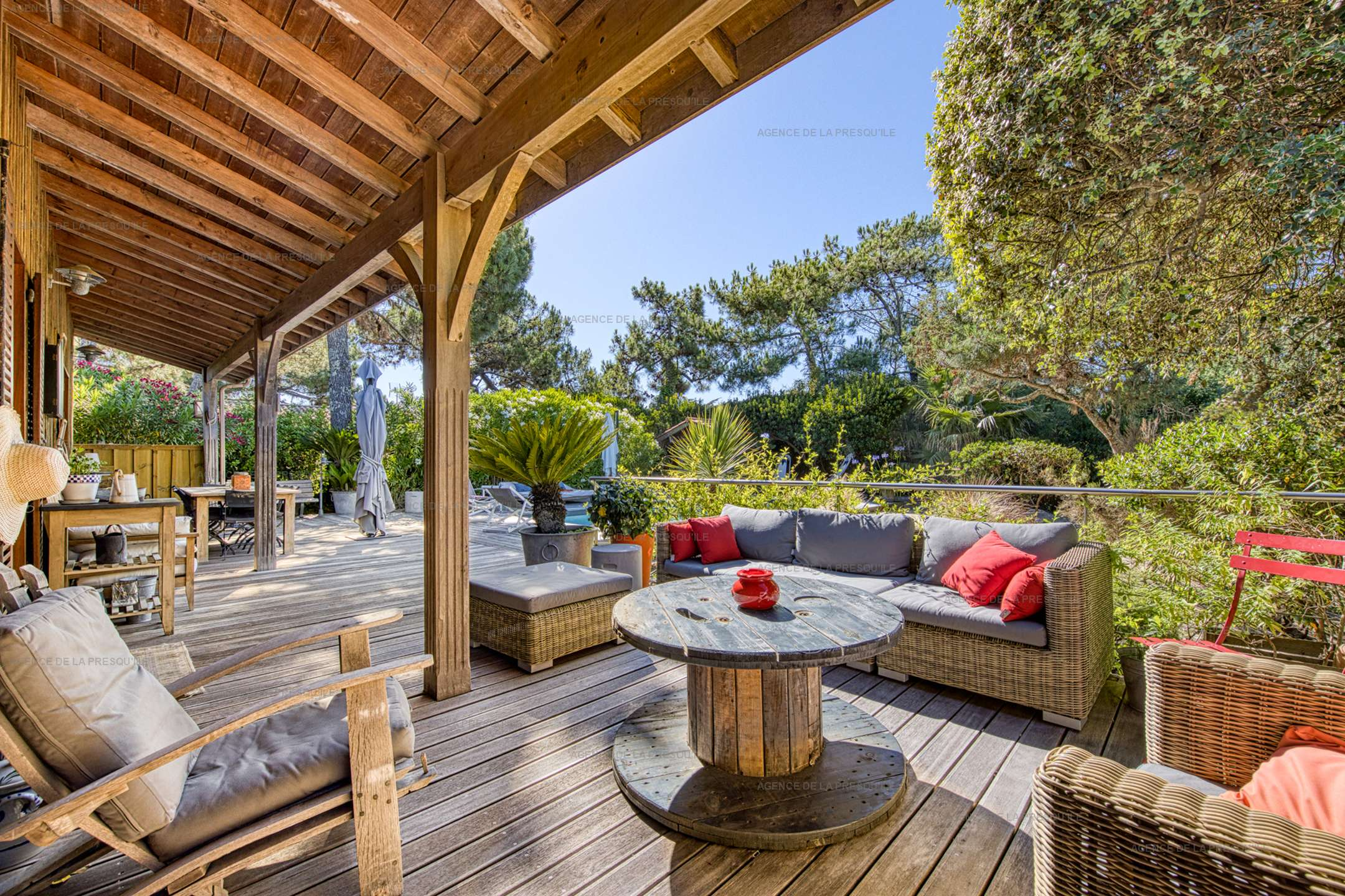 Location: Ravissante villa avec piscine entre le bassin et l'océan 5