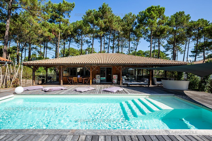 Location: Villa d'architecte avec piscine chauffée, entre bassin et océan 2