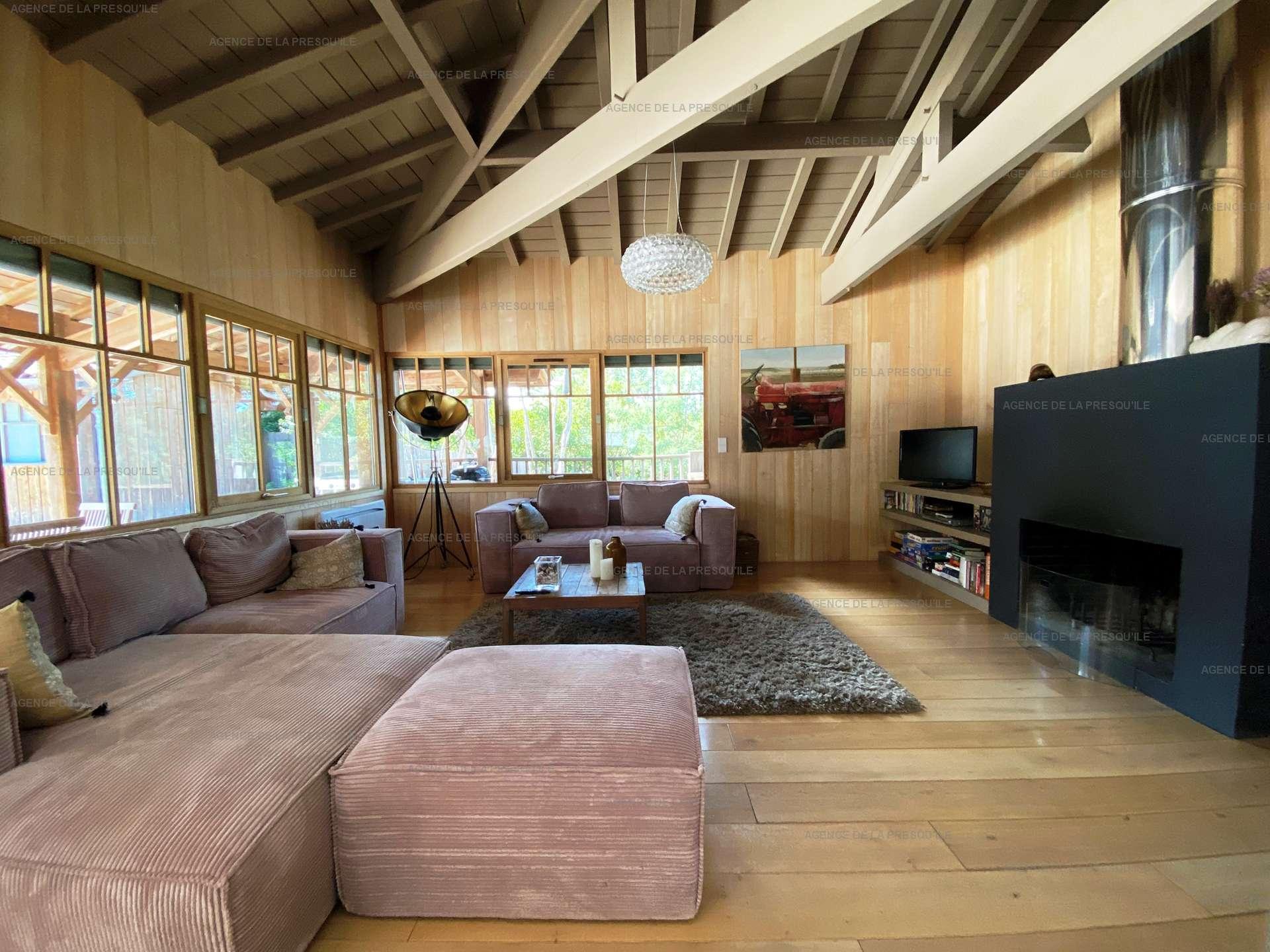 Location: Villa d'architecte avec piscine chauffée, entre bassin et océan 4