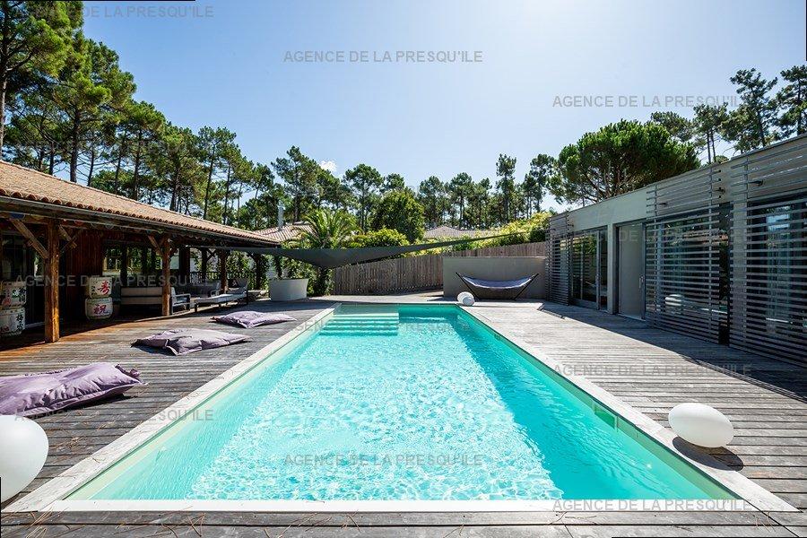 Location: Villa d'architecte avec piscine chauffée, entre bassin et océan 5