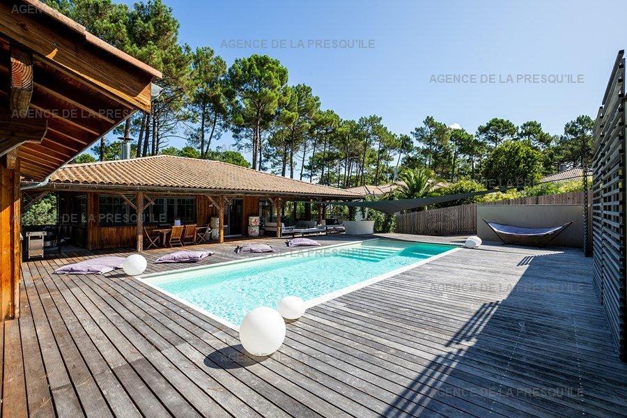 Location: Villa d'architecte avec piscine chauffée, entre bassin et océan 6