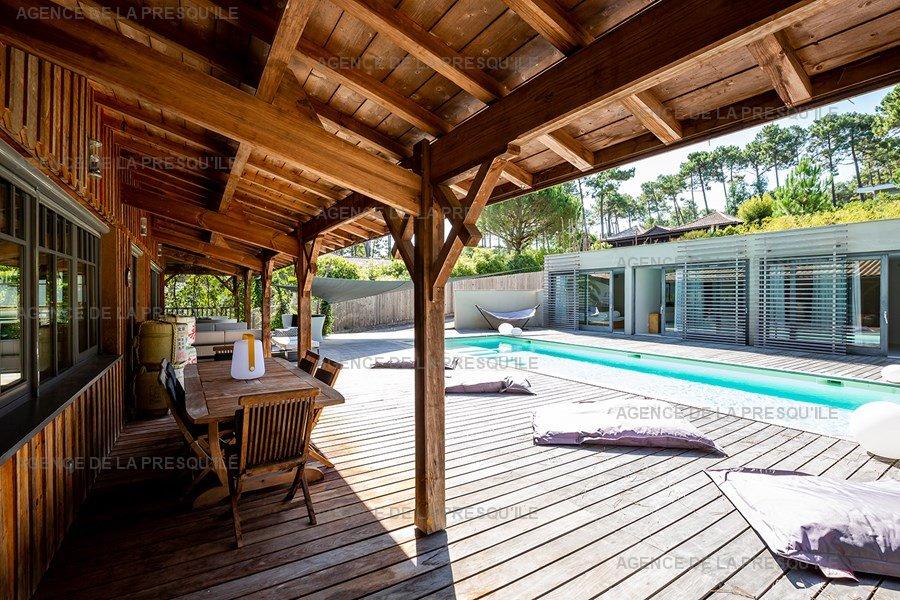 Location: Villa d'architecte avec piscine chauffée, entre bassin et océan 8