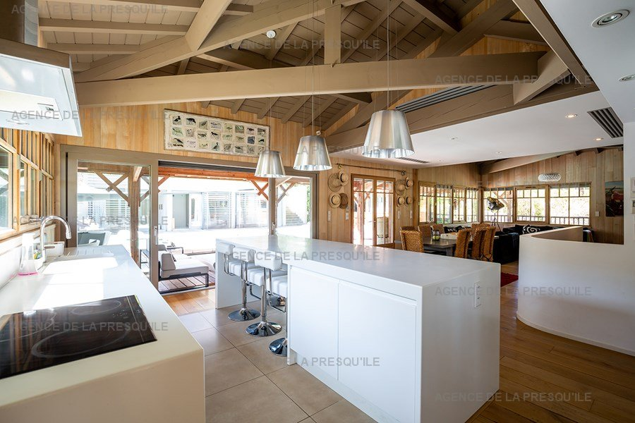 Location: Villa d'architecte avec piscine chauffée, entre bassin et océan 14