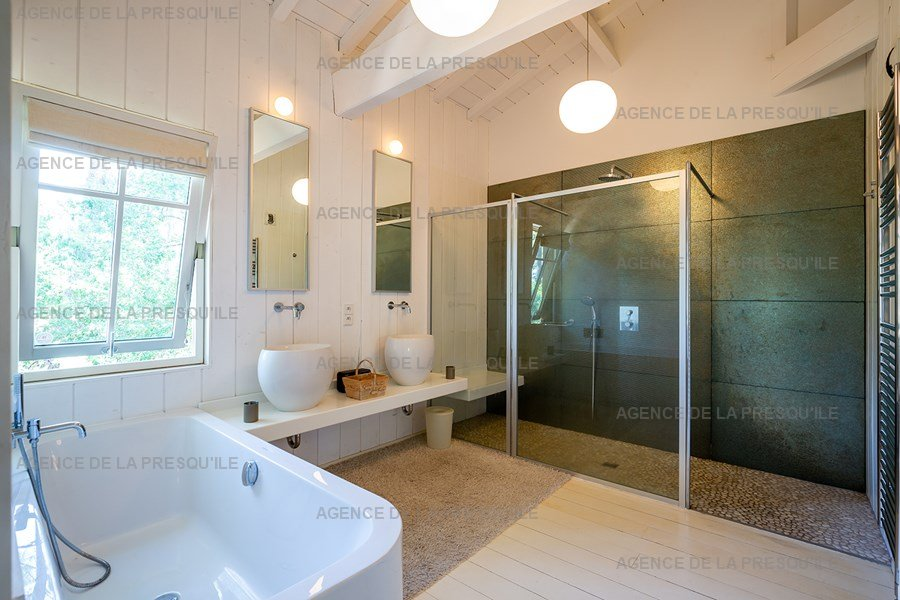 Location: Villa d'architecte avec piscine chauffée, entre bassin et océan 17