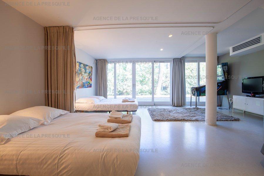 Location: Villa d'architecte avec piscine chauffée, entre bassin et océan 18
