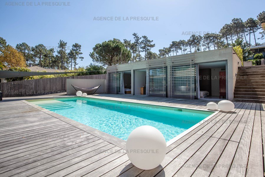 Location: Villa d'architecte avec piscine chauffée, entre bassin et océan 21