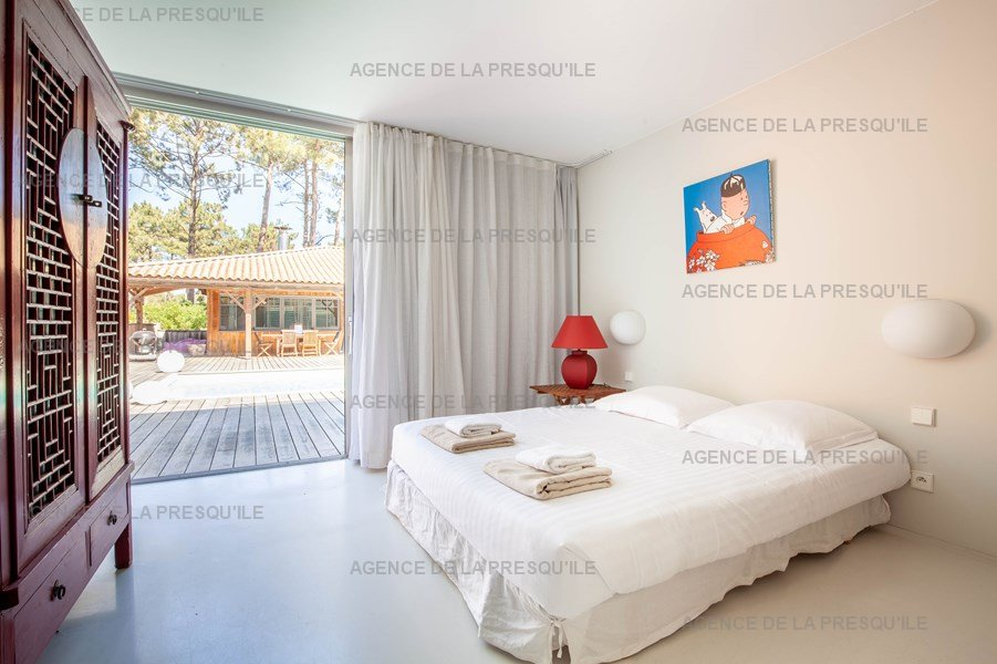 Location: Villa d'architecte avec piscine chauffée, entre bassin et océan 22