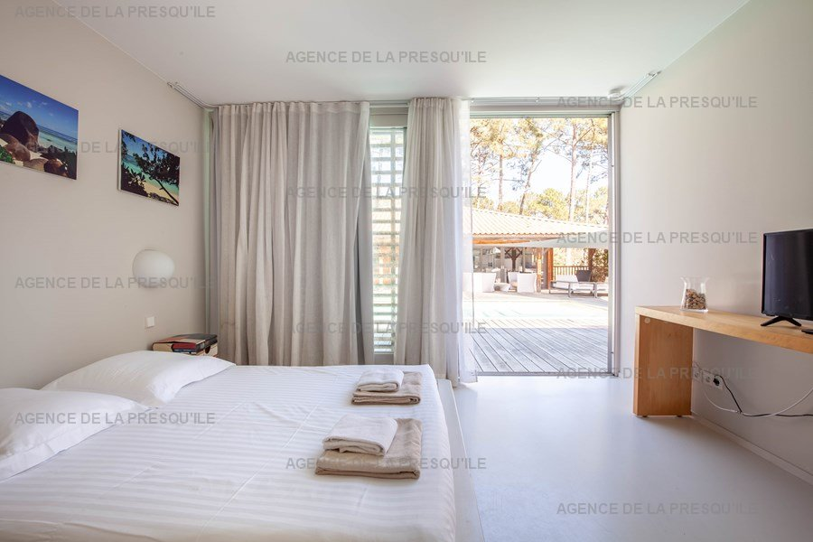 Location: Villa d'architecte avec piscine chauffée, entre bassin et océan 24