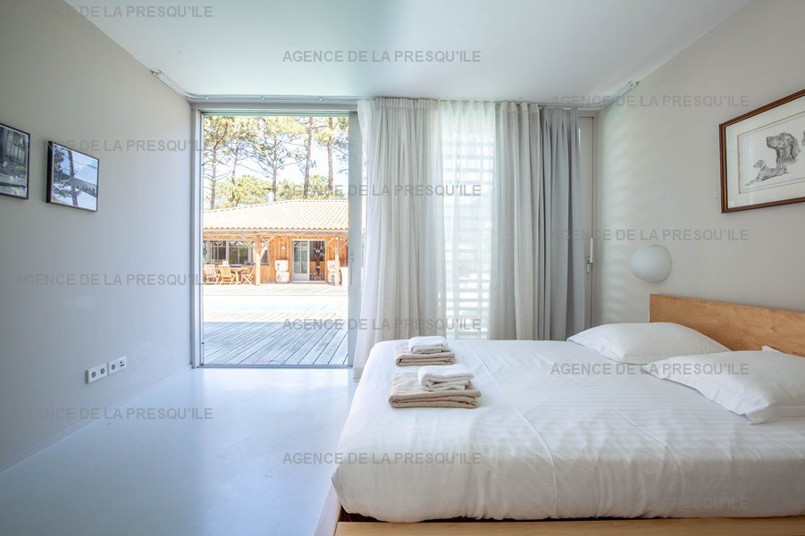 Location: Villa d'architecte avec piscine chauffée, entre bassin et océan 26