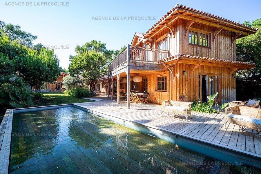 Location: Villa bois d'exception proche de l'océan 2