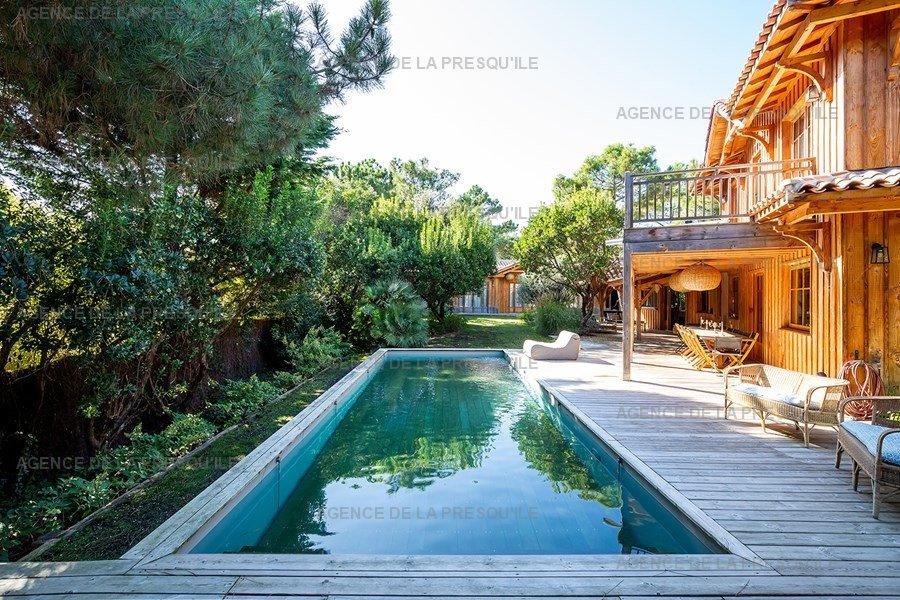Location: Prestige: villa d'exception au cap ferret avec piscine 4