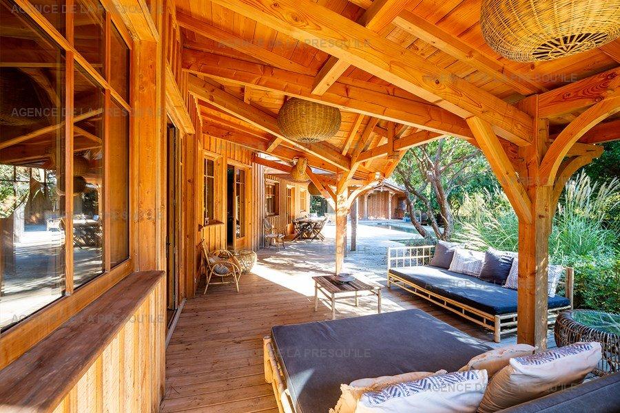 Location: Villa bois d'exception proche de l'océan 5