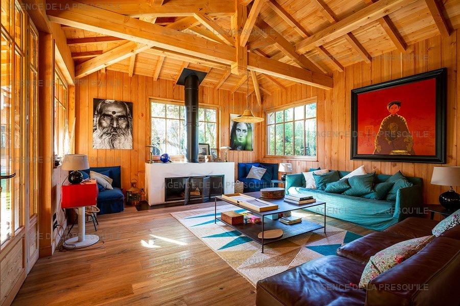 Location: Villa bois d'exception proche de l'océan 6