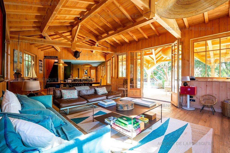 Location: Villa bois d'exception proche de l'océan 7