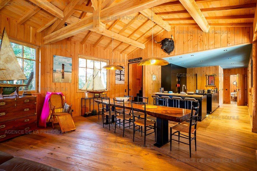 Location: Villa bois d'exception proche de l'océan 8