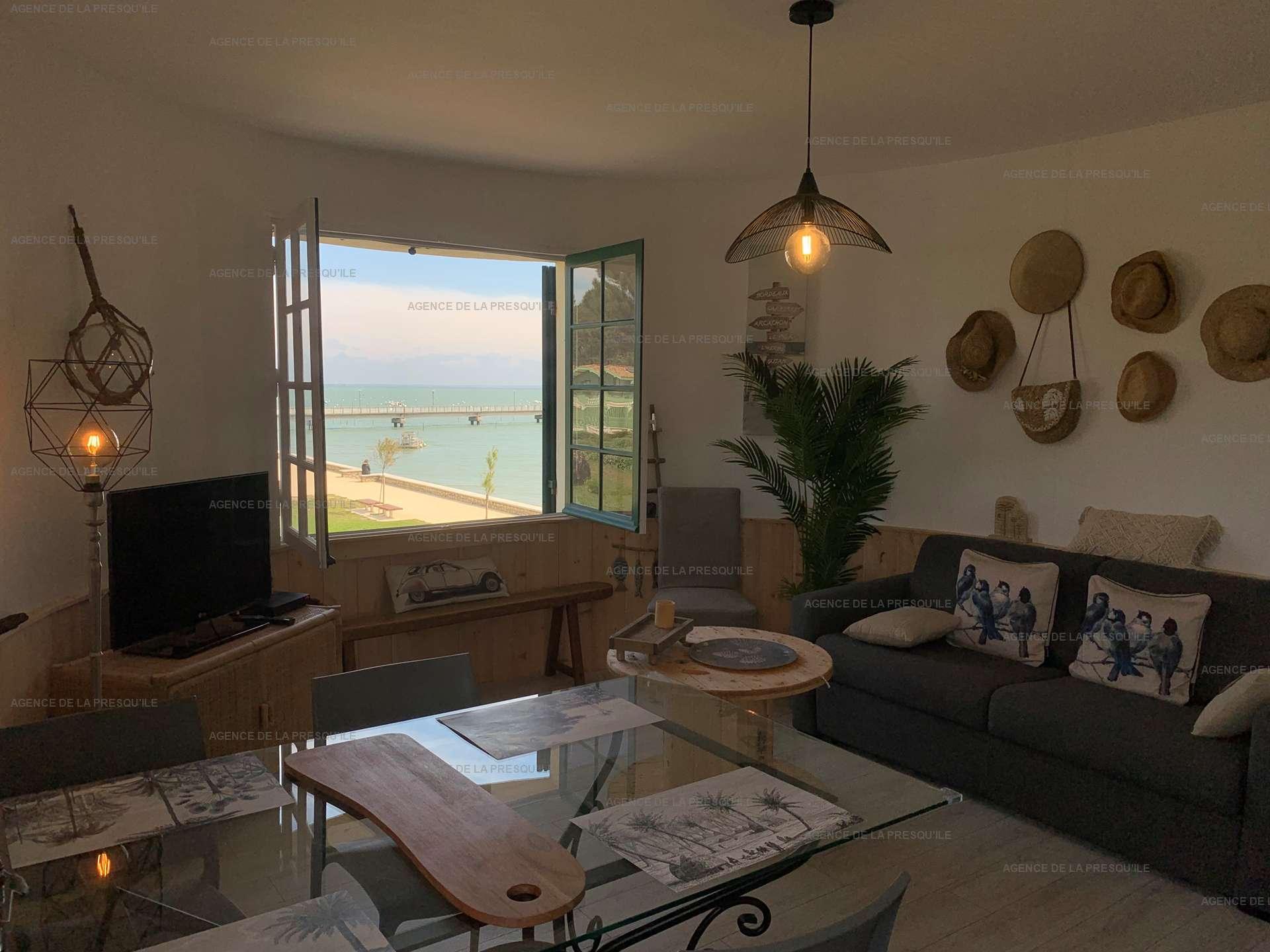 Location: Agréable appartement en plein coeur du cap-ferret 4