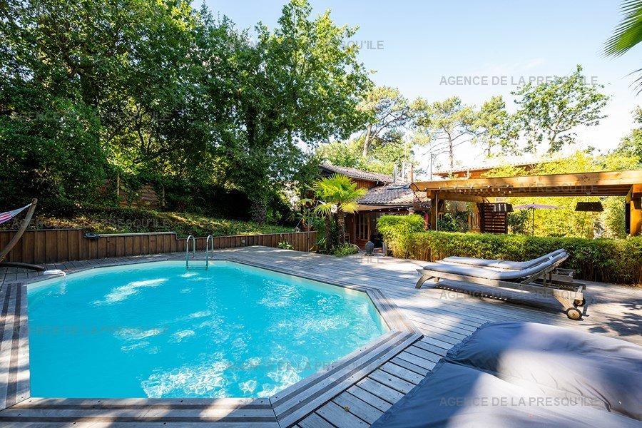 Location: Charmante villa  avec piscine chauffee – proche bassin 2