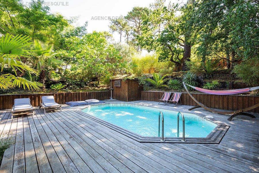 Location: Charmante villa  avec piscine chauffee – proche bassin 3