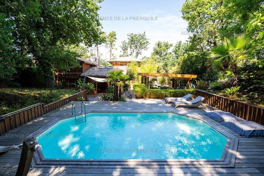 Location: Charmante villa  avec piscine chauffee – proche bassin 4