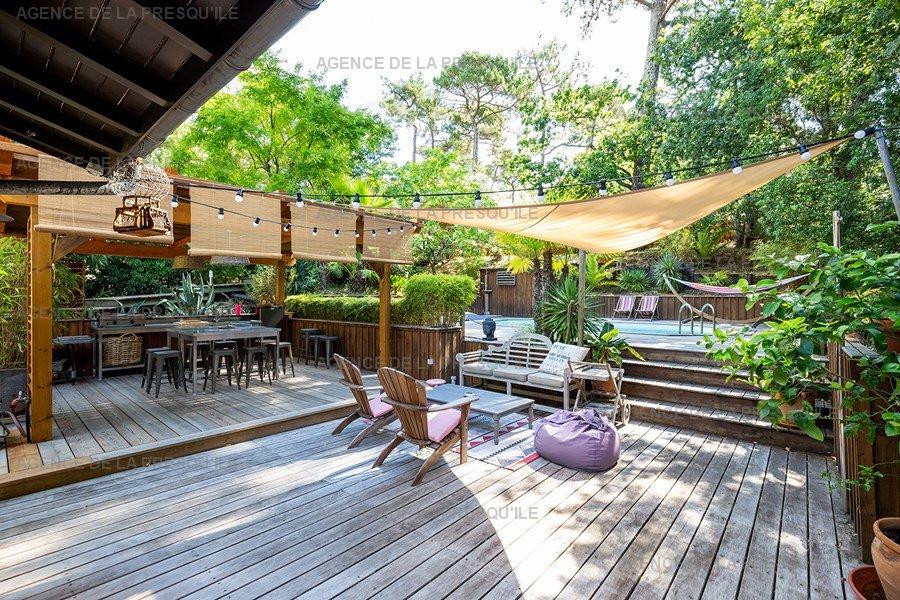 Location: Charmante villa  avec piscine chauffee – proche bassin 6