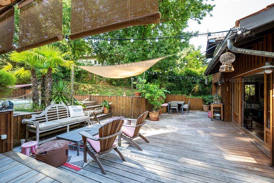Location: Charmante villa  avec piscine chauffee – proche bassin 8