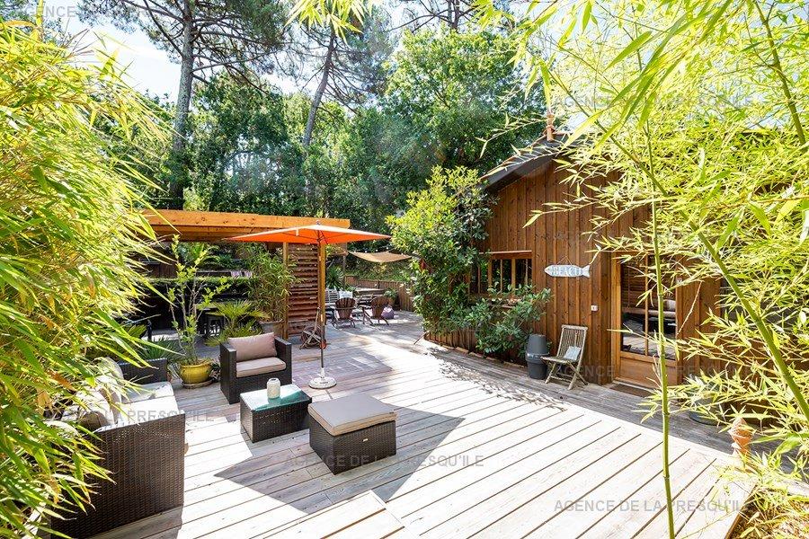 Location: Charmante villa  avec piscine chauffee – proche bassin 11
