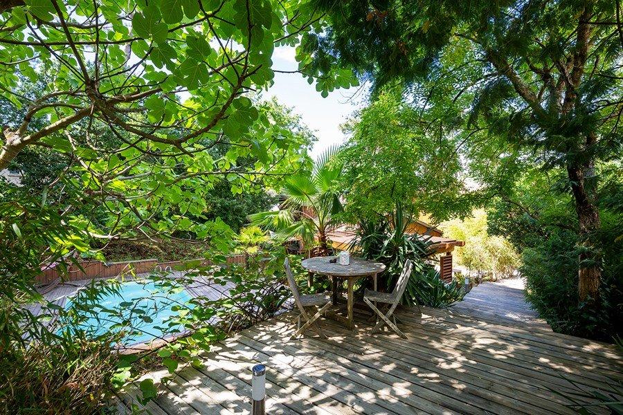 Location: Charmante villa  avec piscine chauffee – proche bassin 14