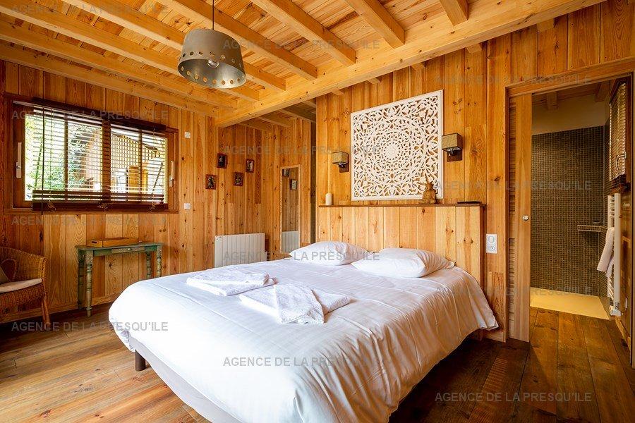 Location: Proche bassin – charmante villa  avec piscine chauffee 25