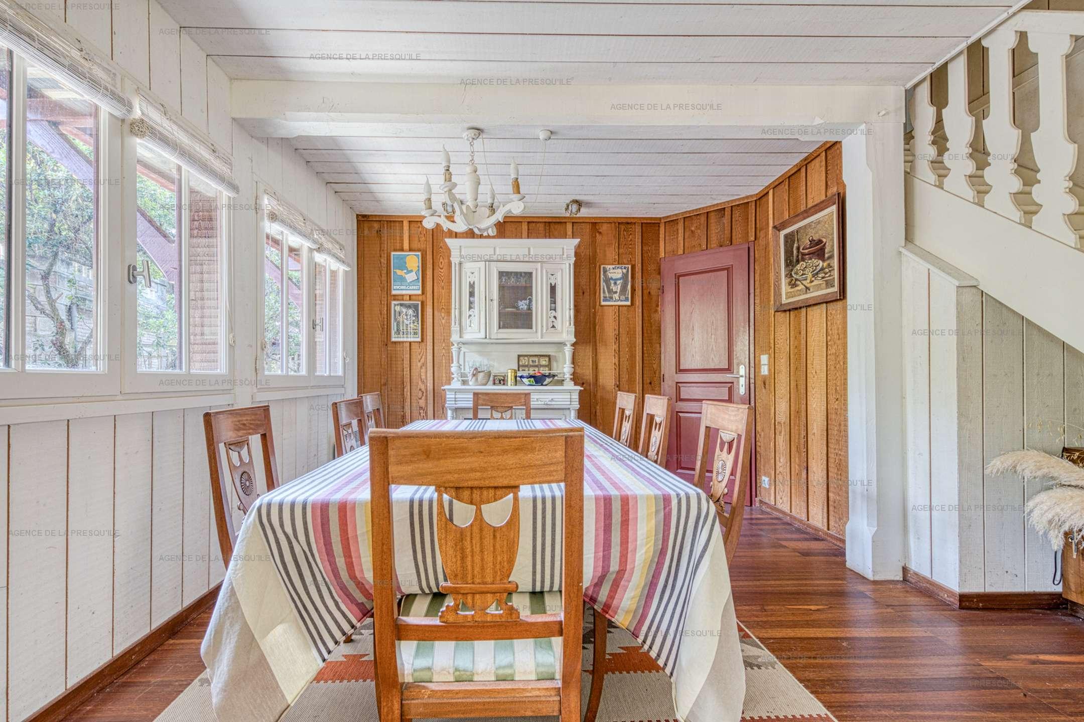 Location: villa en bois avec piscine 6