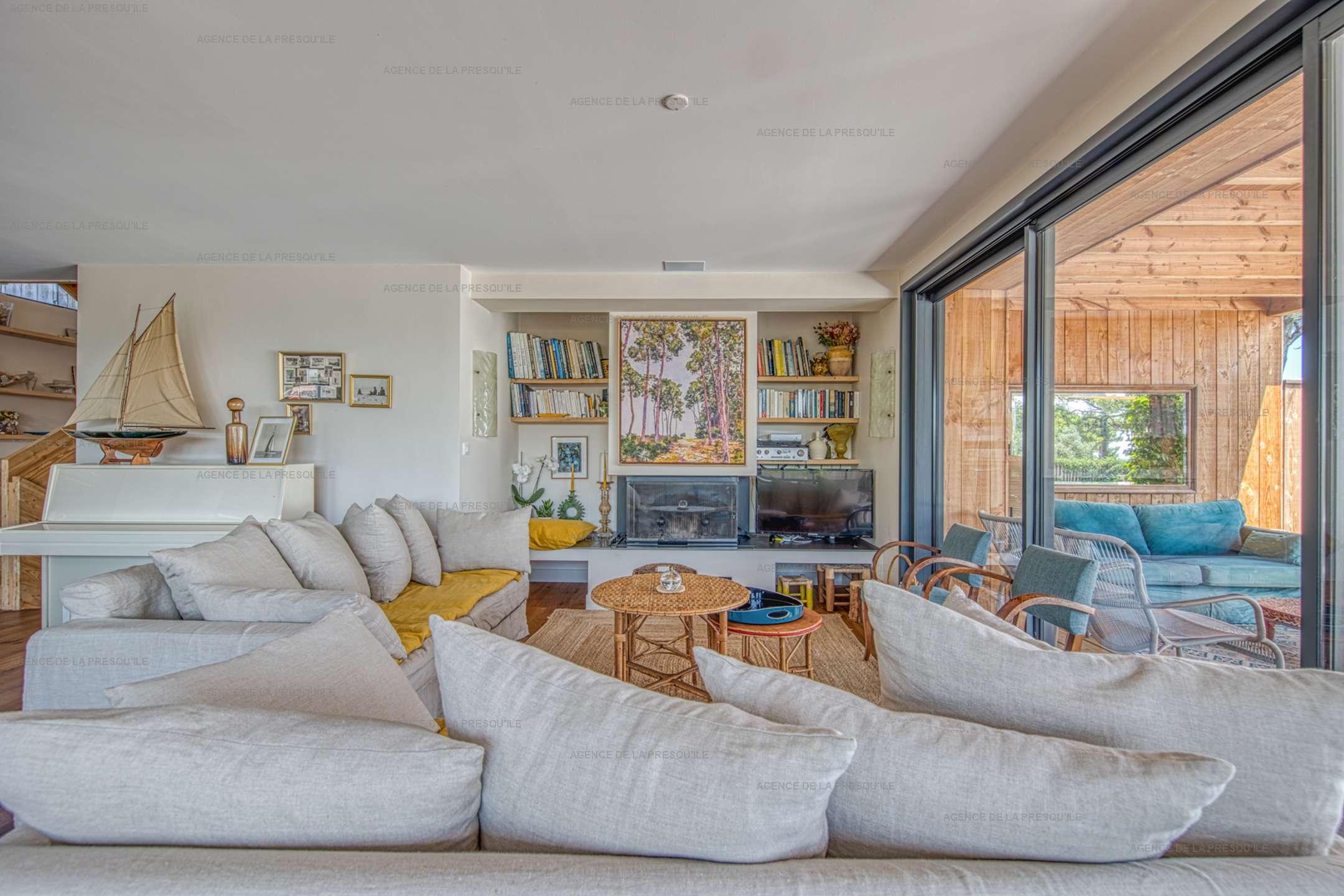 Location: Belle villa  neuve avec vue bassin et acces plage 4